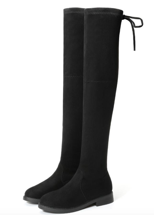 Boot nữ cổ cao đế trệt GCC28