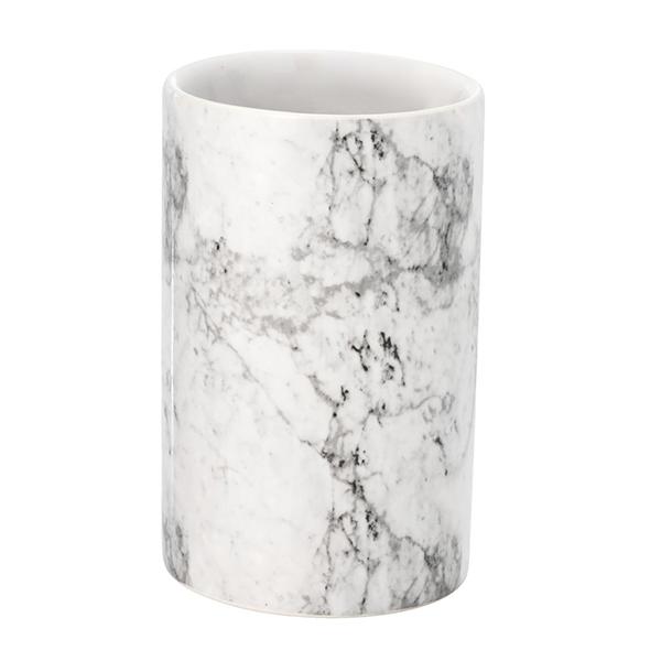 Cốc Đựng Bàn Chải Gốm Jonstorp JYSK - Màu Đá Cẩm Thạch (7  x  11 cm)