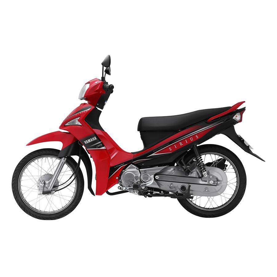 Xe Máy Yamaha Sirius Fi Phanh Đĩa - Đỏ