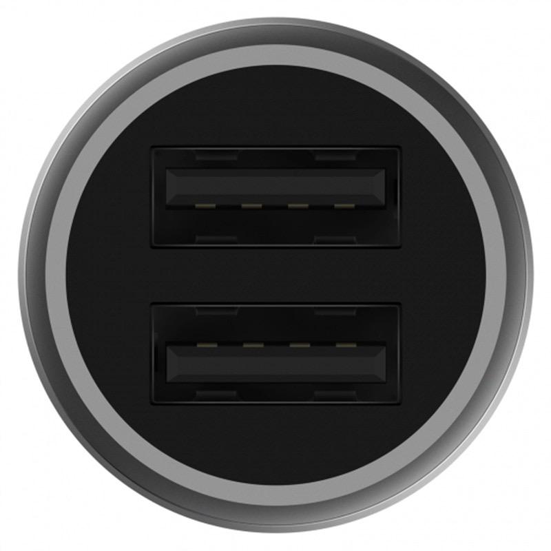 Tẩu sạc xe hơi Xiaomi 2 cổng USB Pro - Hàng chính hãng