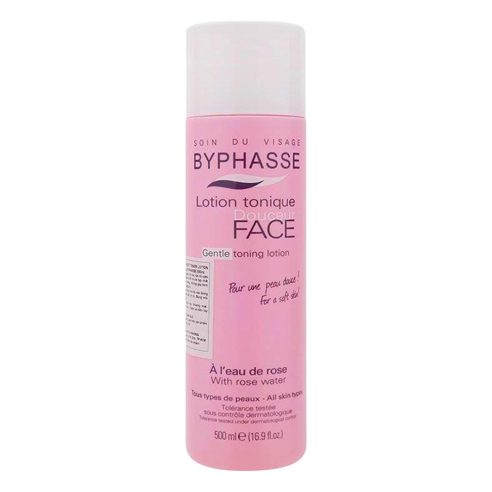 Combo Nước Tẩy Trang Byphasse Micellar Make-Up Remover Solution (500ml) + Nước Hoa Hồng Dưỡng Da Byphasse Face Soft Toner Lotion (500ml)
