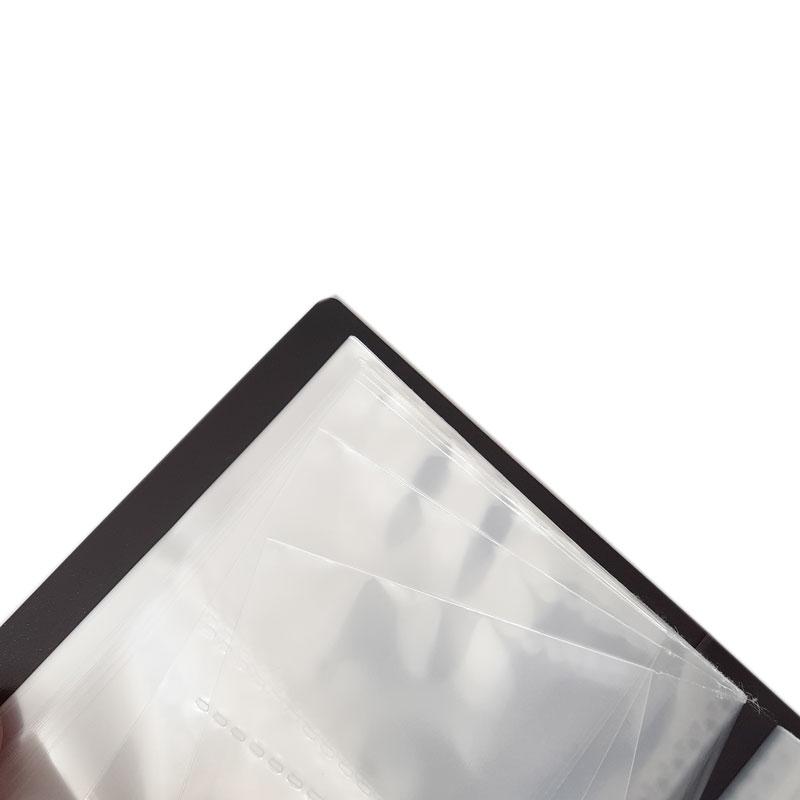 Bìa Còng Nhựa D-Ring KingJim A4S 30mm 692TGSV - Black