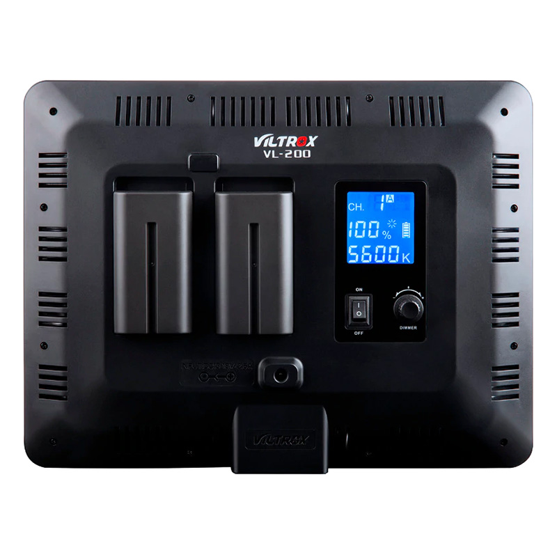 Đèn LED Quay Phim VL-200 Viltrox - Hàng Chính Hãng