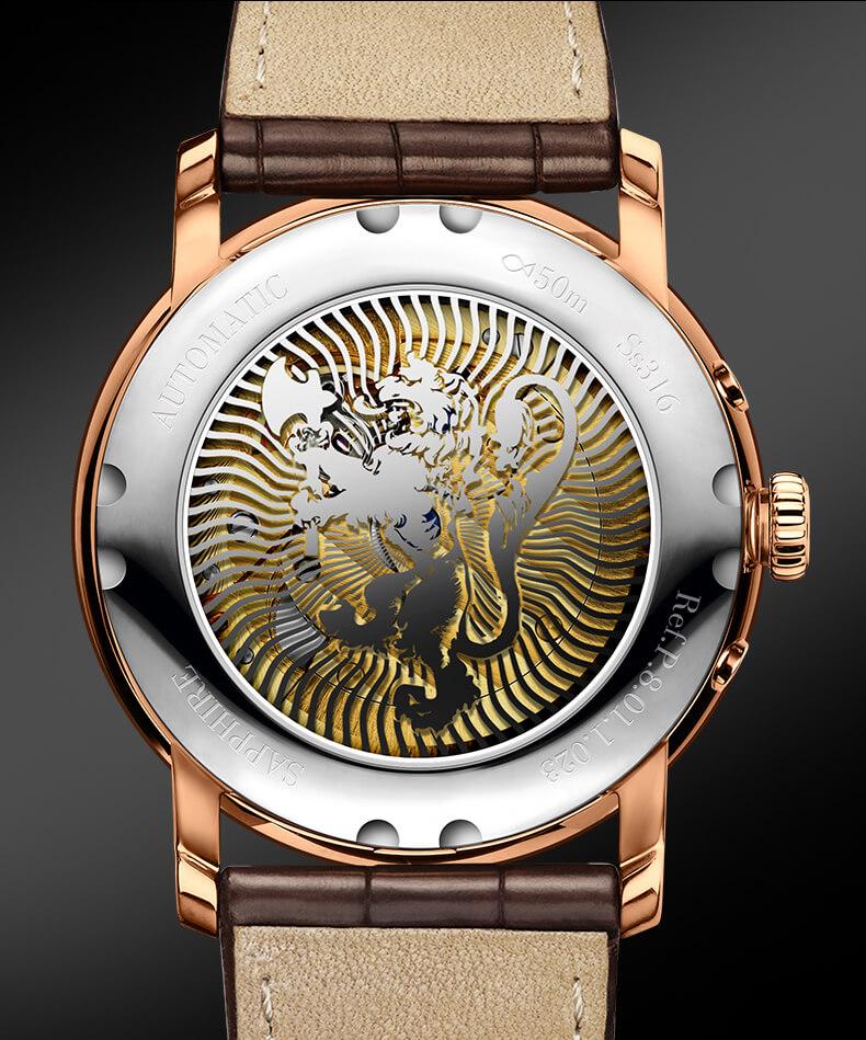 Đồng hồ nam chính hãng Lobinni No.1023LT-6 ( Phiên bản Đặc biệt )
