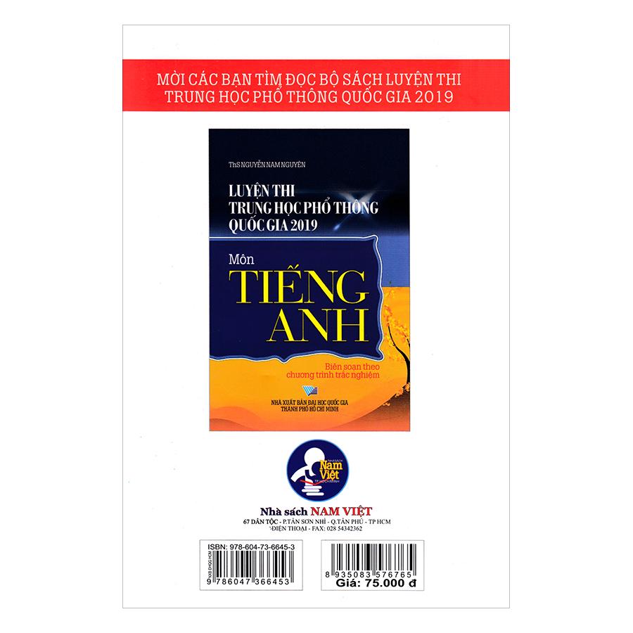Luyện Thi Trung Học Phổ Thông Quốc Gia 2019 Môn Tiếng Anh
