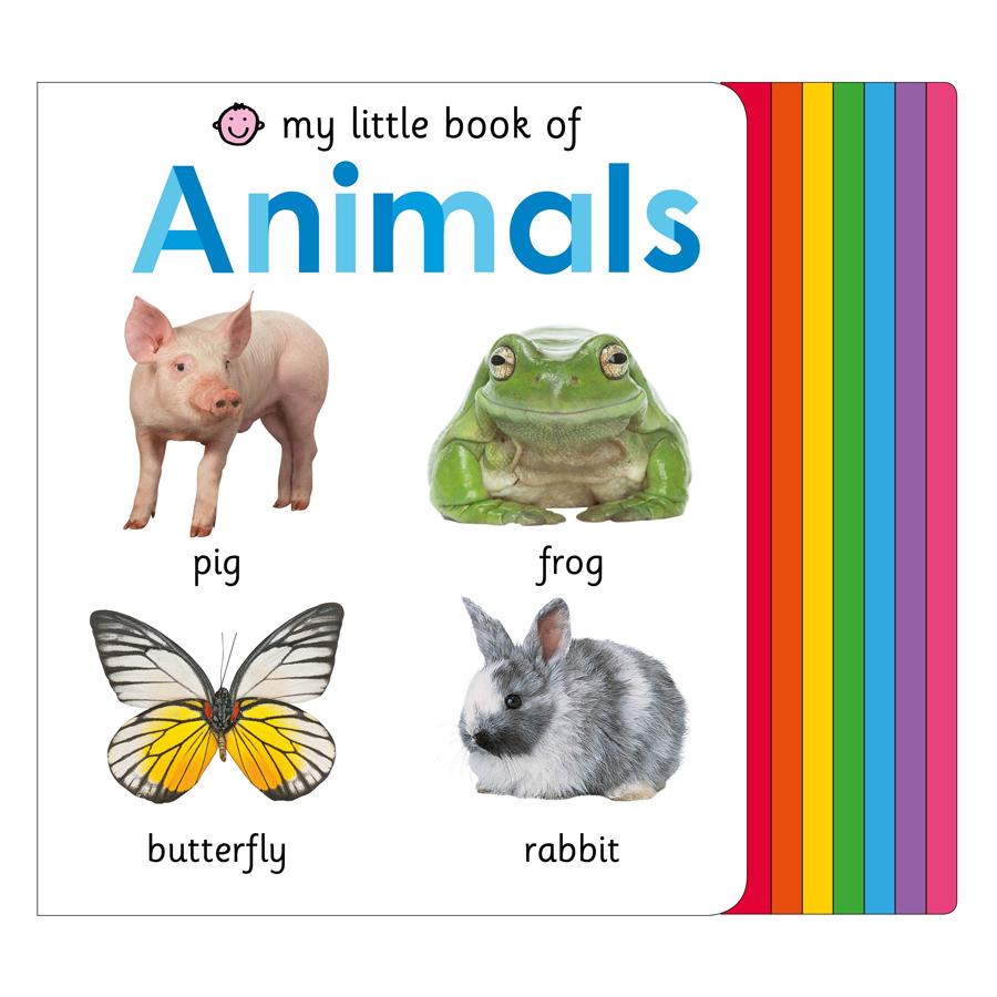 My Little Book of Animals (My Little Books Series)