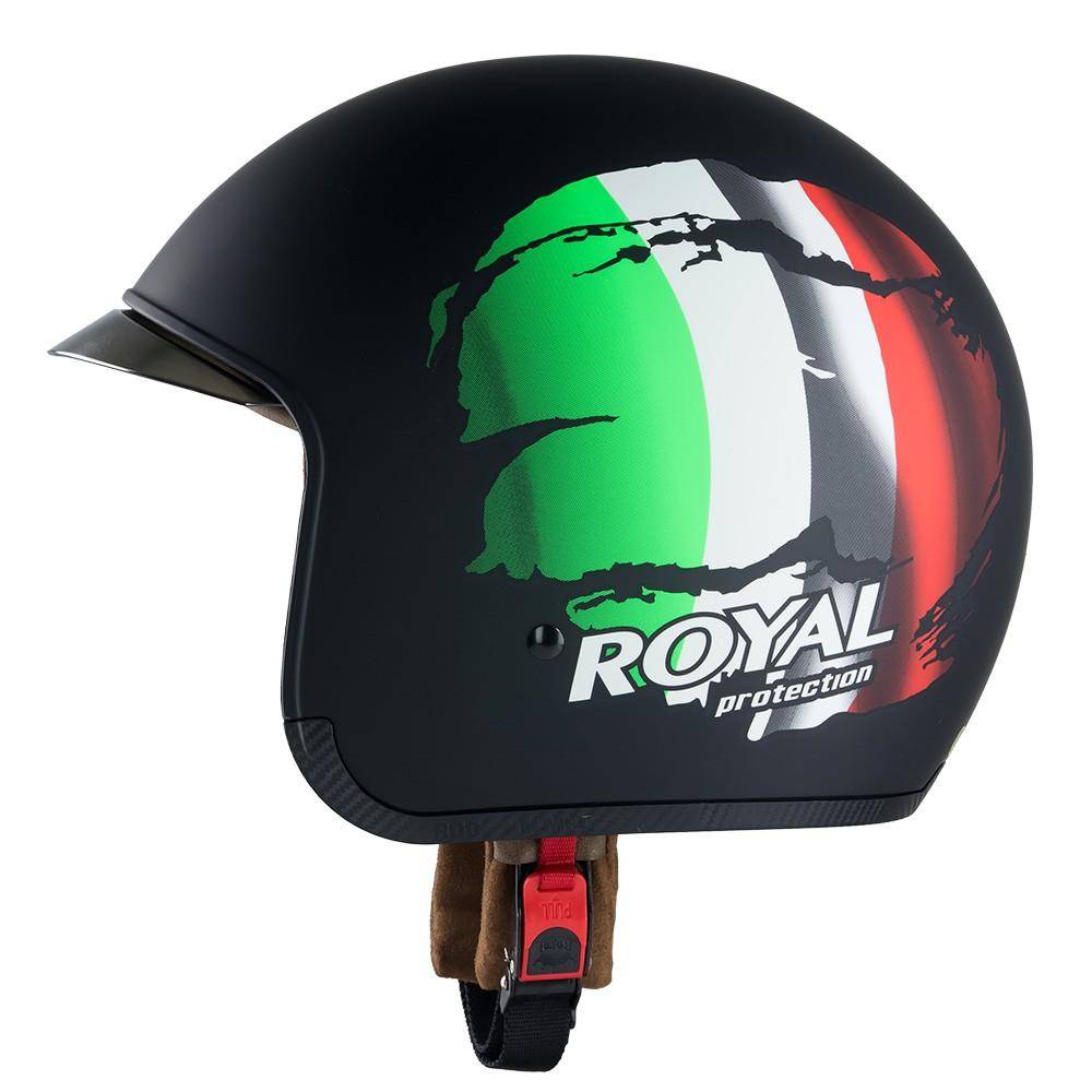 Nón Bảo Hiểm Royal M139 tem Ý