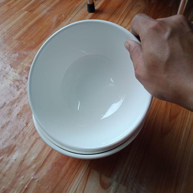Tô sứ trắng 15,5cm