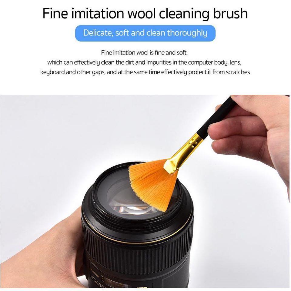 Bộ vệ sinh đa năng 7 món cho tất cả các thiết bị số hiệu Coteetci Digital Cleaner Kit (Kích thước cực gọn, đa năng, dễ dàng mang theo) - Hàng nhập khẩu