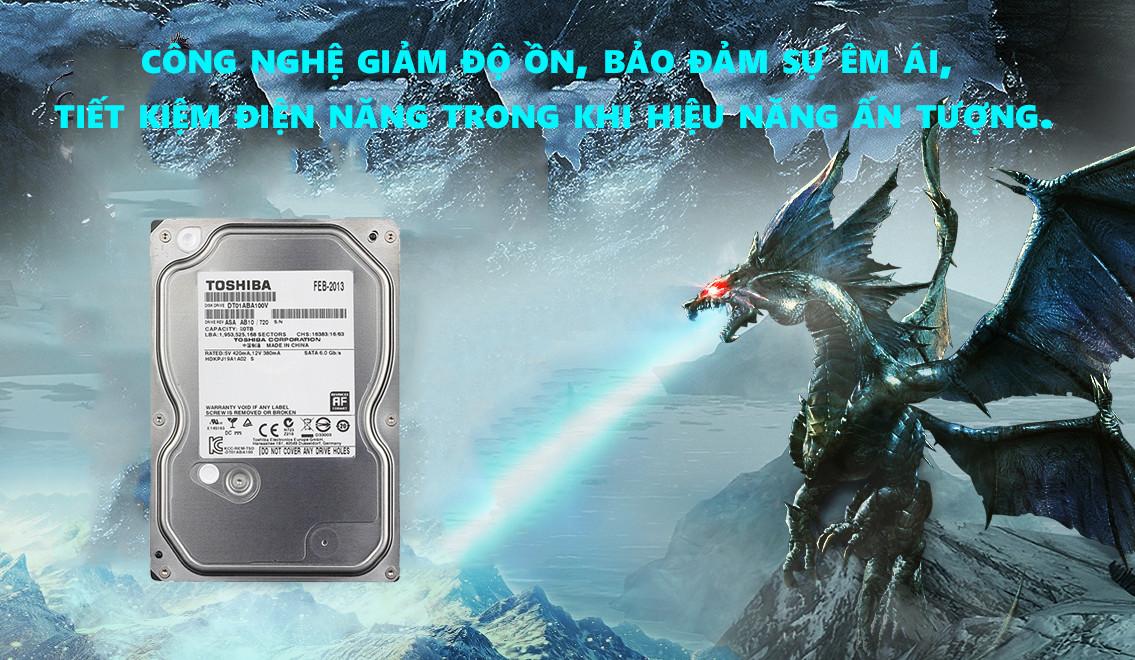 Ổ Cứng Toshiba 2TB Sata 3 32MP DT01ABA200V - Hàng Chính Hãng