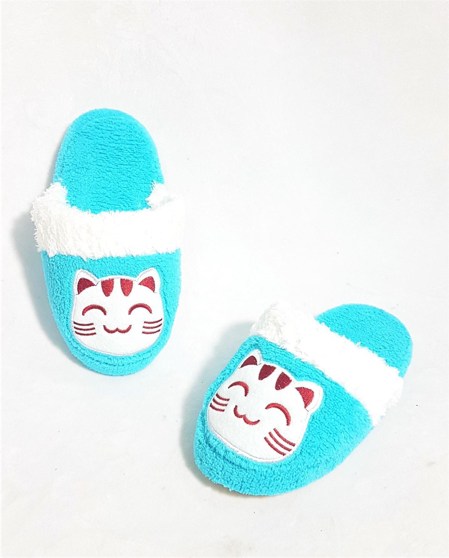 Dép đi trong nhà trẻ em Easy Life Slippers LUCKY CAT 3310