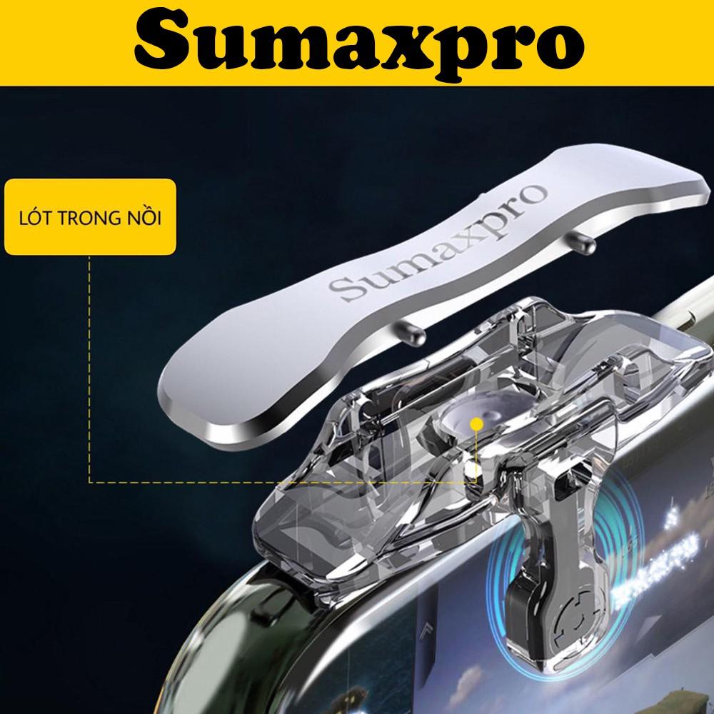 Bộ 2 nút bấm chơi game Pubg Mobile Sumaxpro hỗ trợ chơi game trên điện thoại - Hàng chín hãng