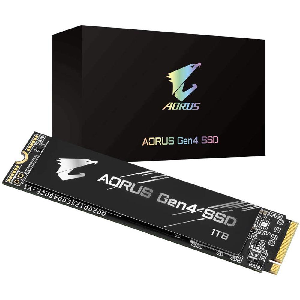 Ổ cứng SSD 1TB Gigabyte Aorus M.2 NVMe PCIe Gen4 (GP-AG41TB)- Hàng chính hãng