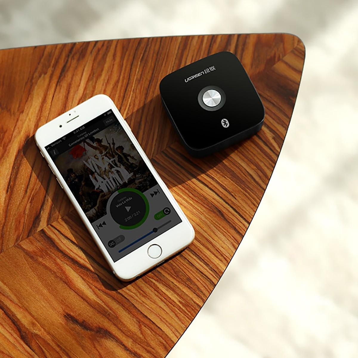 Bộ thu Bluetooth 4.2 cho Loa Và Amply cao cấp Ugreen - Hàng chính hãng