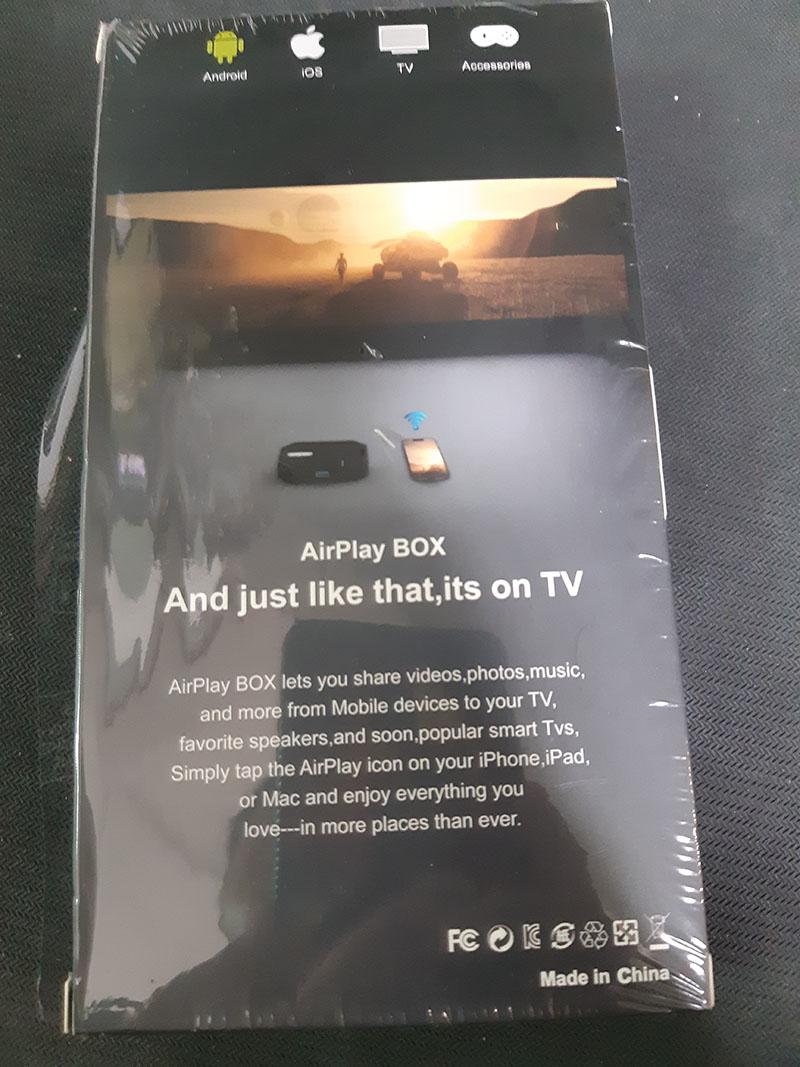 Thiết bị chuyển không dây, có dây từ điện thoại lên tivi qua HDMI/ VGA/ AV - 3in1 AirPlay P10 Wifi