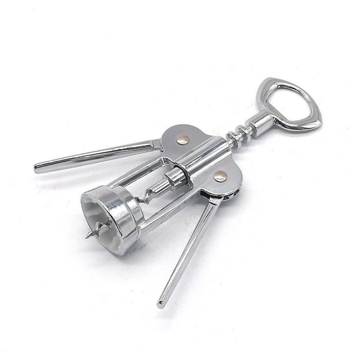 Dụng cụ mở rượu vang cánh bướm - Khui bia,khui nắp chai an toàn,dễ sử dụng chất liệu inox 304 toàn phần SRV01044