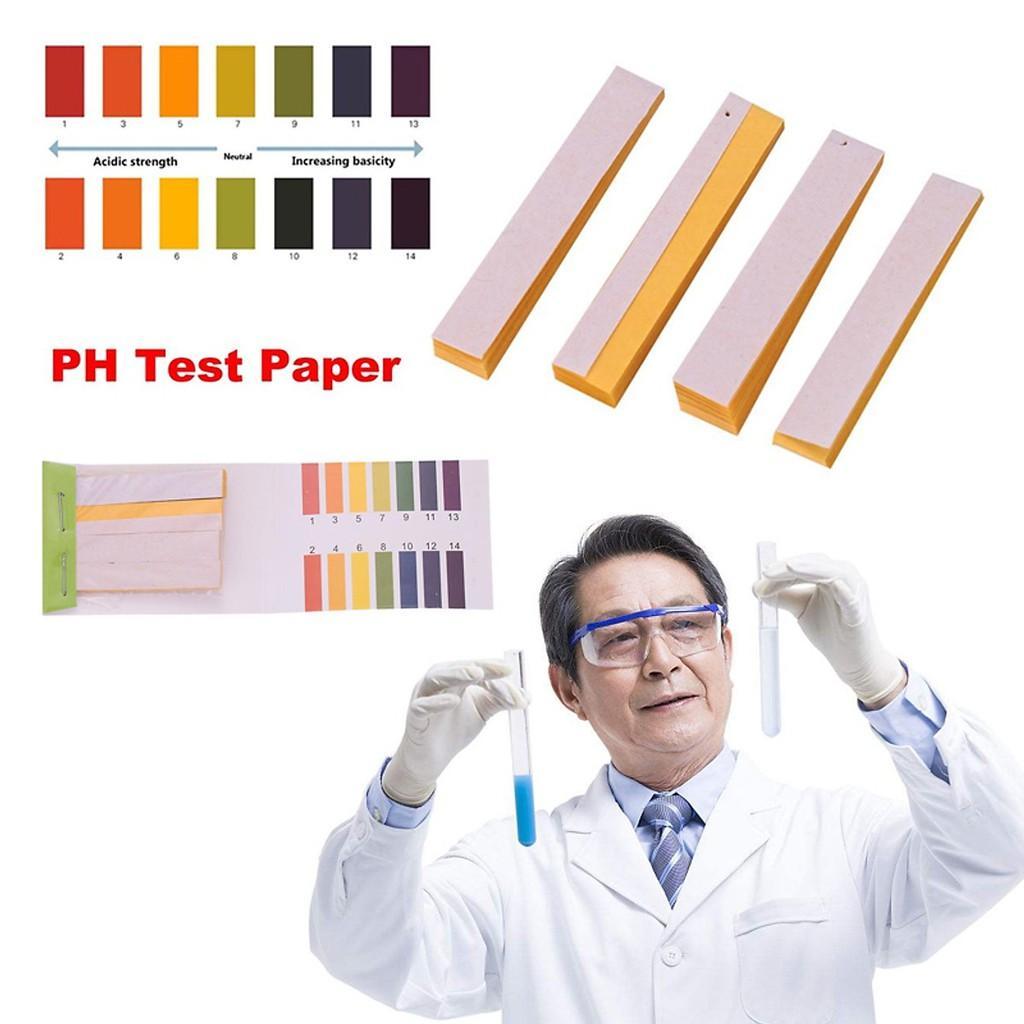 Combo 10 tệp giấy quỳ tím đo độ ph chính xác