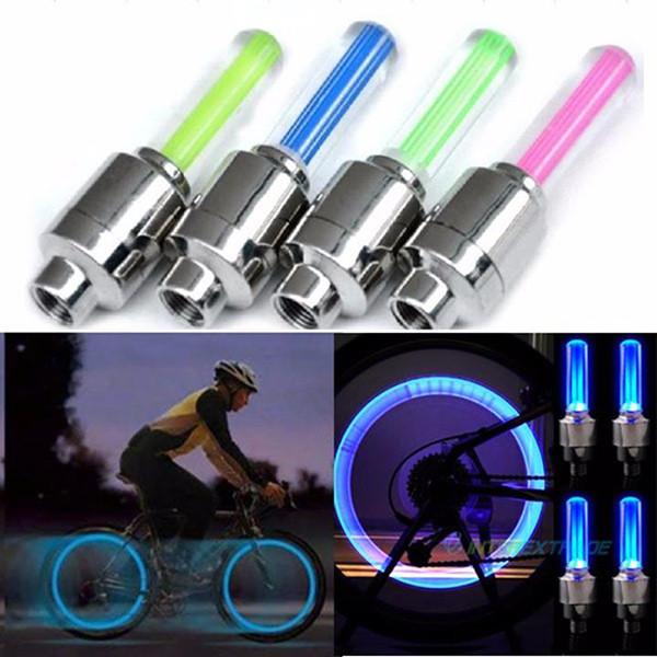 Bộ 2 đèn LED gắn van bánh xe máy, ô tô giá rẻ