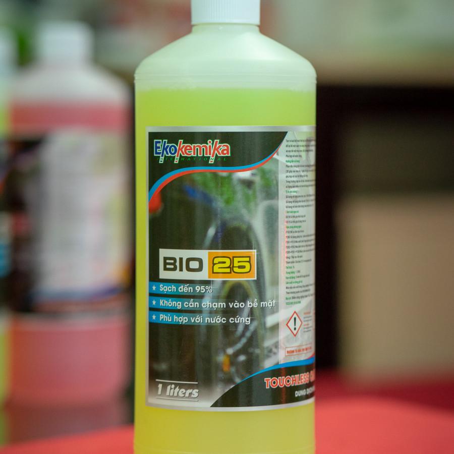 Dung Dịch Rửa Xe Không Chạm Ekokemika Bio 25 - (1l) - Hàng Chính Hãng