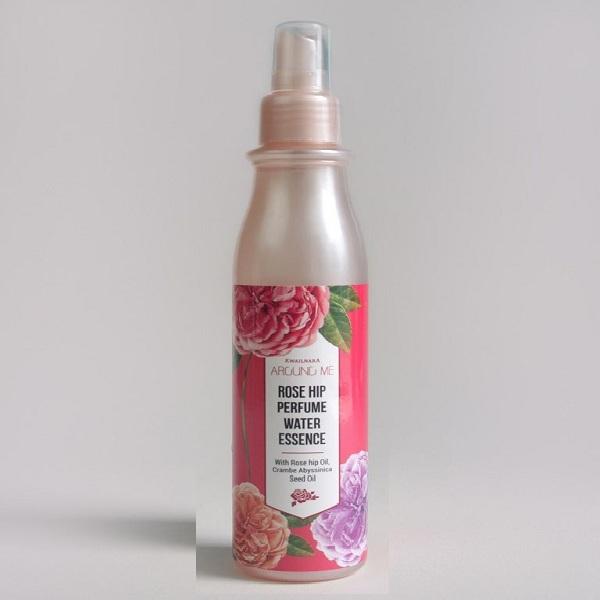 Xịt dưỡng hoa hồng (Hàn Quốc)  Welcos Around me Rose Hip Perfume Water Essence 200ml