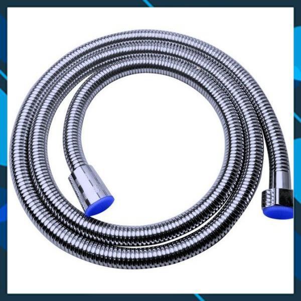 Vòi sen cỡ lớn tăng áp D15 và dây sen đẹp dây 1.5m 206780-206786