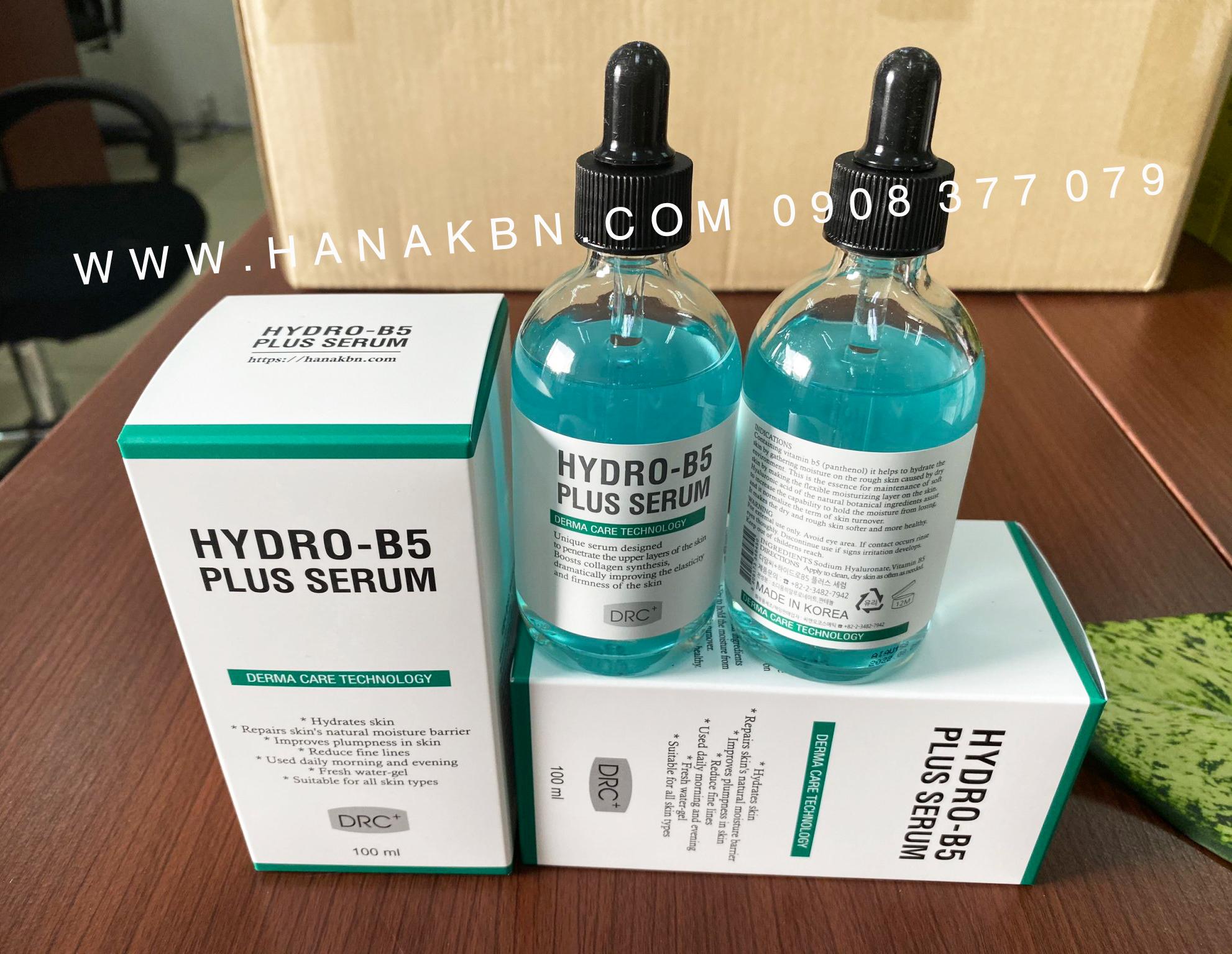 Serum dưỡng ẩm Hydro B5 Plus - Tinh chất dưỡng ẩm Nhãn hiệu DRC PLUS |  MuaDoTot.com