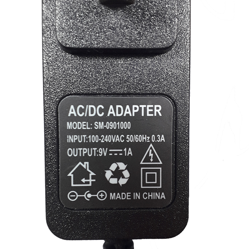 Nguồn Adapter 9V-1A (5.5 x 2.1mm)