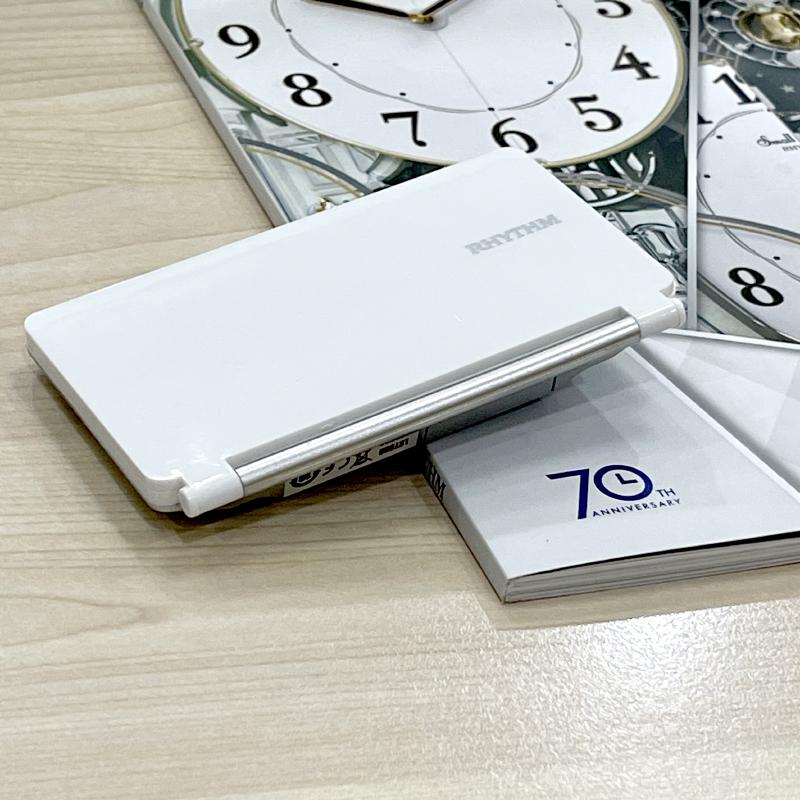Đồng hồ điện tử Nhật Bản Rhythm LCT098NR03 - Kt 10.3 x 6.3 x 1.6 cm, 70g