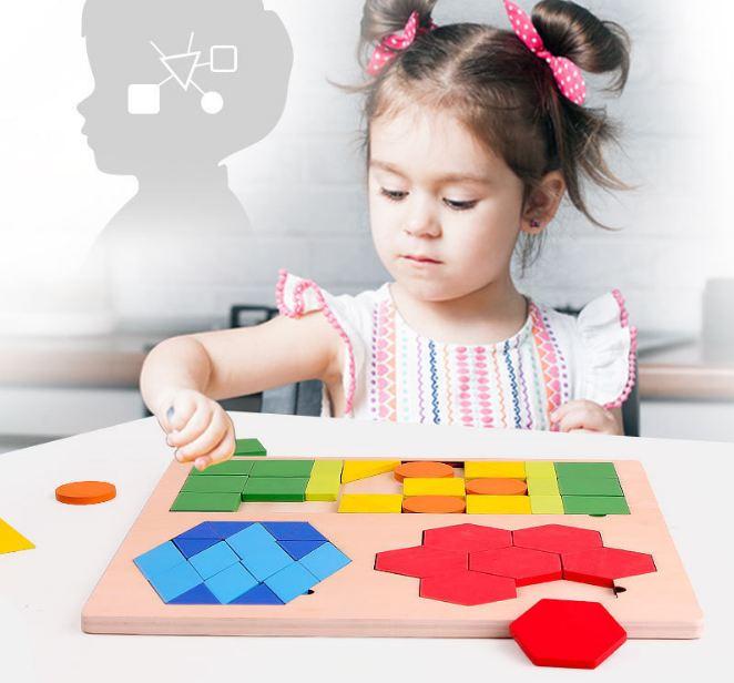 Đồ chơi tư duy - Bảng ghép tư duy theo thẻ