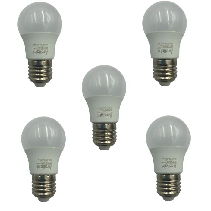 Bộ 5 bóng đèn LED bulb kín nước 5W