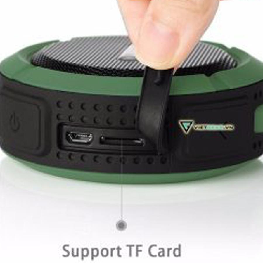 Loa Bluetooth Kháng Nước Chống Va Đập Âm Thanh Cực Hay Stereo Bass(màu ngẫu nhiên)