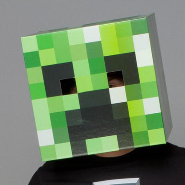 Đầu hoá trang Creeper Minecraft