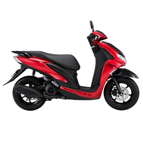 Xe máy Yamaha Freego (Bản tiêu chuẩn) - Đỏ