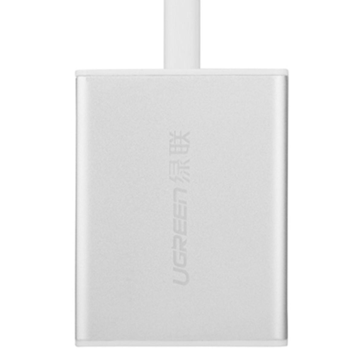 Cổng chuyển DISPLAY PORT to VGA + Audio  Ugreen 20412 - 20 cm Hàng Chính Hãng