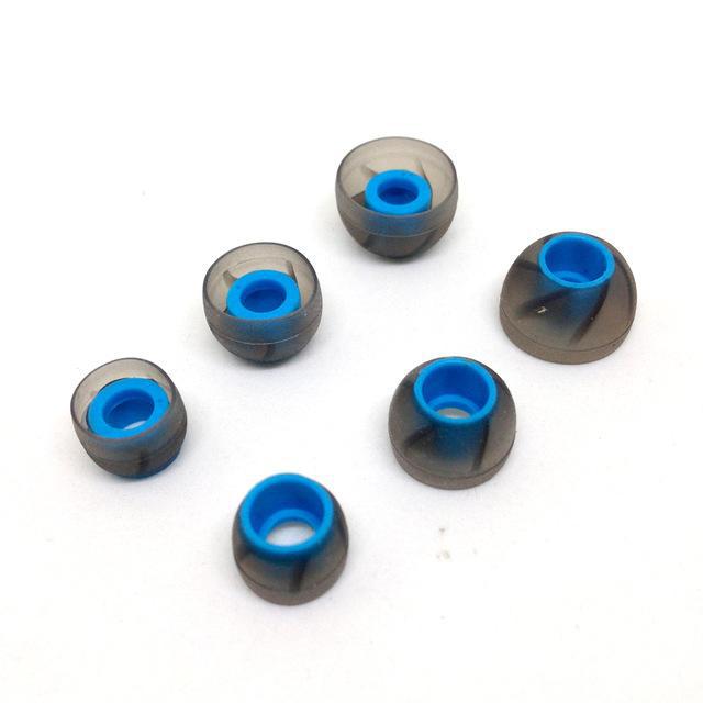 3 cặp đệm Silicon 3 size S M L cho tai nghe nhét tai ( KZ ) cao cấp - Hàng chính hãng