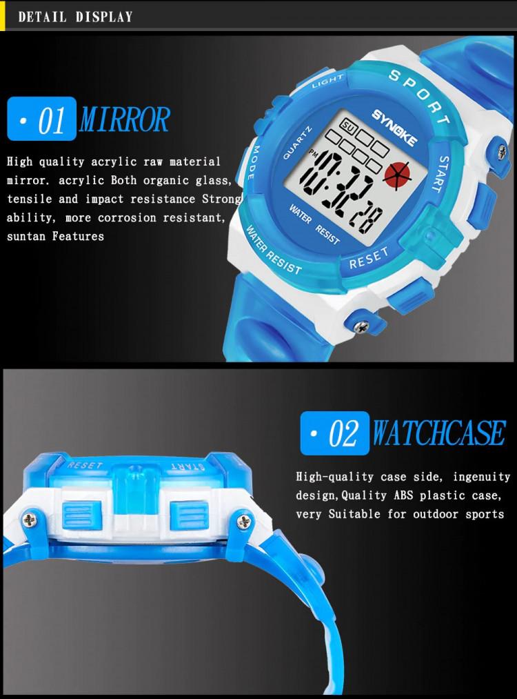 Đồng hồ trẻ em SYNOKE 99268 10