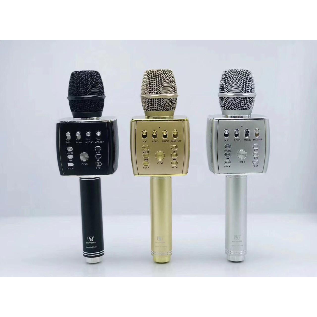 Micro Karaoke Bluetooth SU-YOSD YS-93 - Hàng Nhập Khẩu (Giao Màu Ngẫu Nhiên)