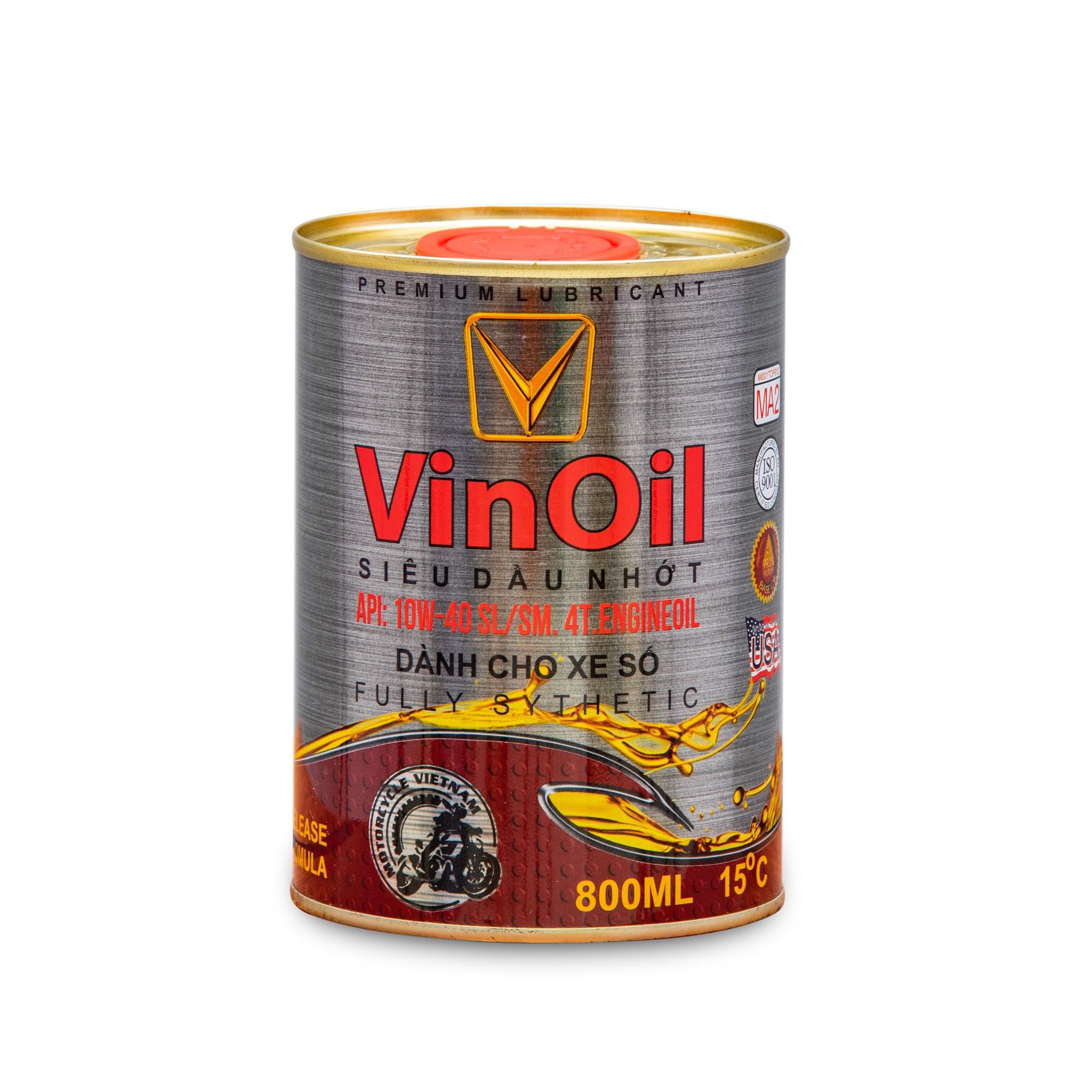 Dầu nhớt V-Oil 0.8L dùng cho xe số