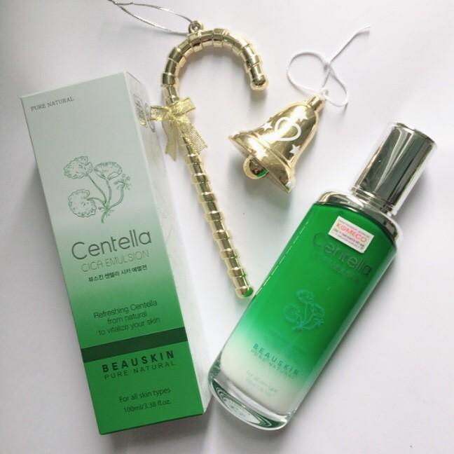 Sữa dưỡng da sáng mịn cấp ẩm dưỡng trắng da mềm mại mịn màng từ Thảo dược quý Beauskin Centella CICA Emulsion, HQ 100ml