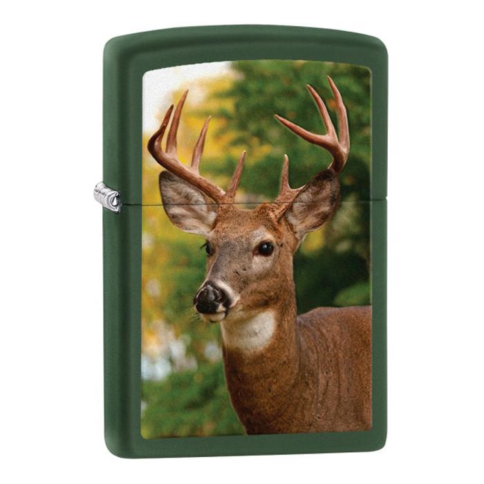 Bật Lửa Zippo 28471 Buck Green Matte