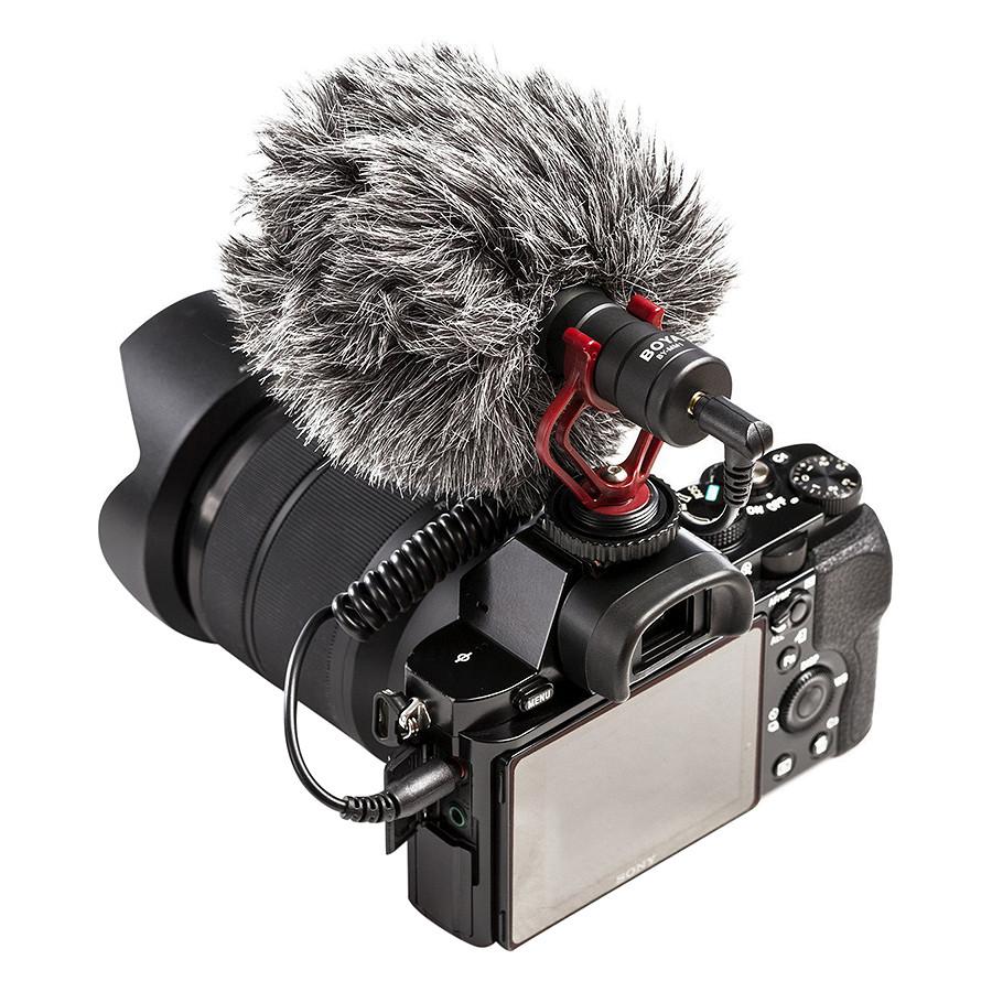 Microphone Phỏng Vấn Chuyên Nghiệp BOYA BY-MM1 - Hàng Nhập Khẩu