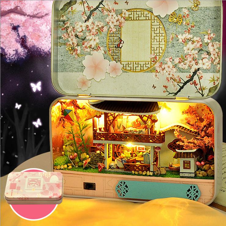 Mô hình nhà DIY Doll House Four-Hour Landscape Box TH5 - TH8