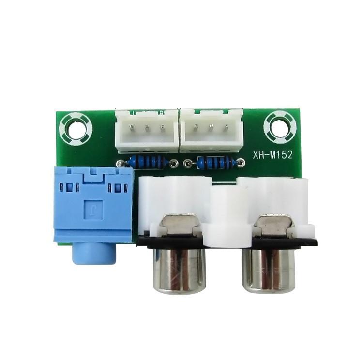 Giao diện vào ra amply giắc 3.5mm - hoa sen - 3P D00-107