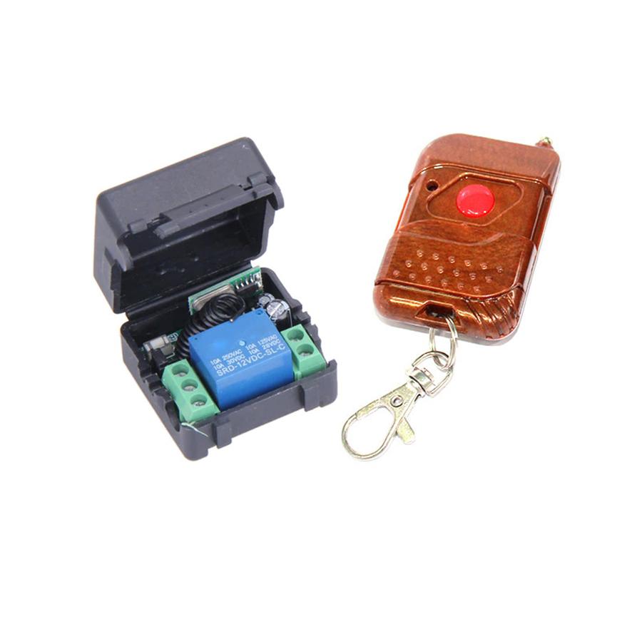 Bộ Điều Khiển Thiết Bị Bằng Sóng RF 315Mhz 12V 1 Kênh(bộ học lệnh)