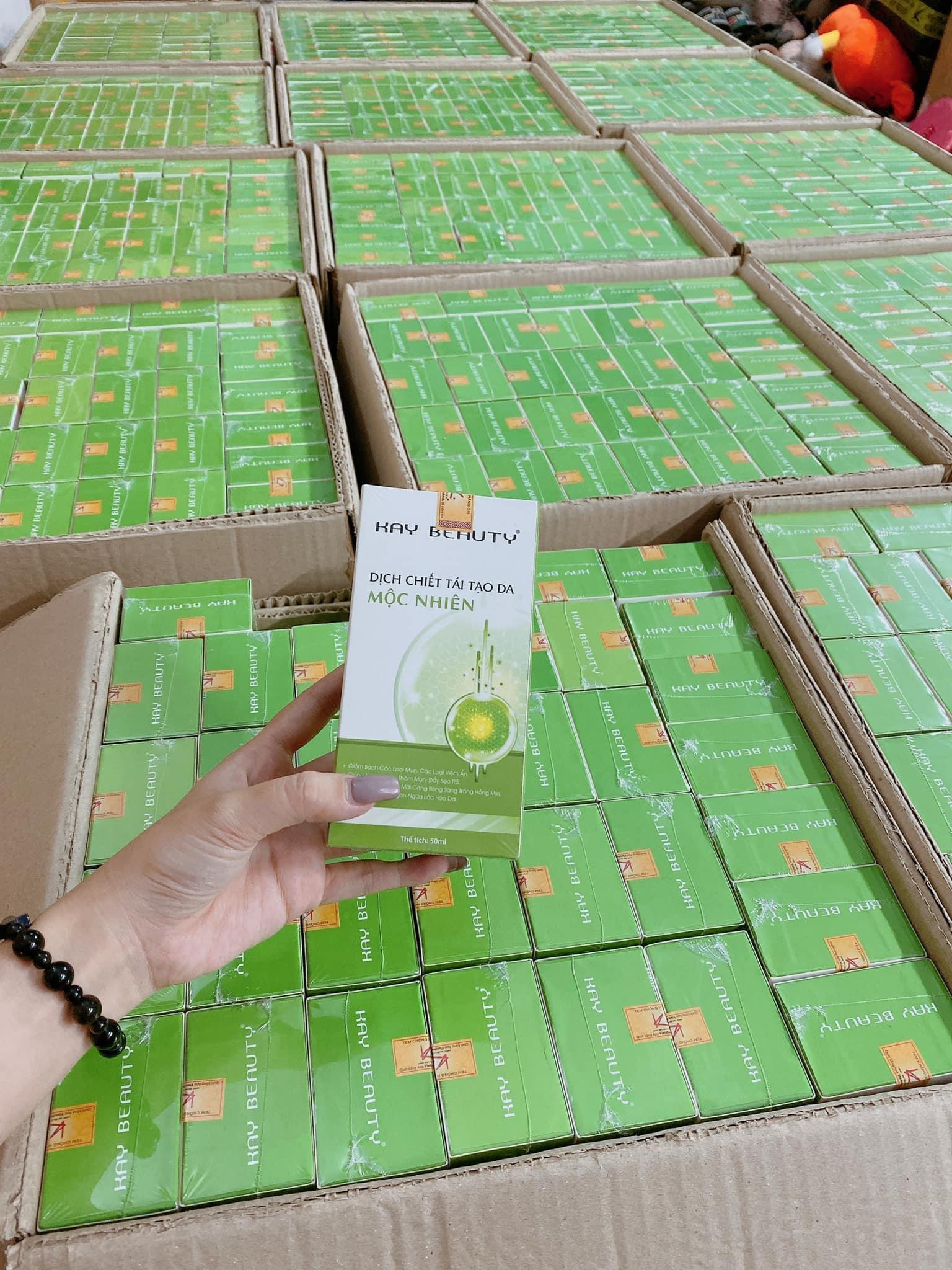 Dịch Chiết Giúp Tái Tạo Da Mộc Nhiên - Combo 3 chai Kay Beauty