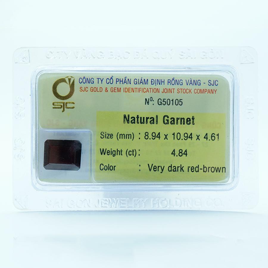 Viên đá kiểm định Garnet tự nhiên mài giác chữ nhật - 50105 - 23357880 , 5087905986924 , 62_14073351 , 2358000 , Vien-da-kiem-dinh-Garnet-tu-nhien-mai-giac-chu-nhat-50105-62_14073351 , tiki.vn , Viên đá kiểm định Garnet tự nhiên mài giác chữ nhật - 50105