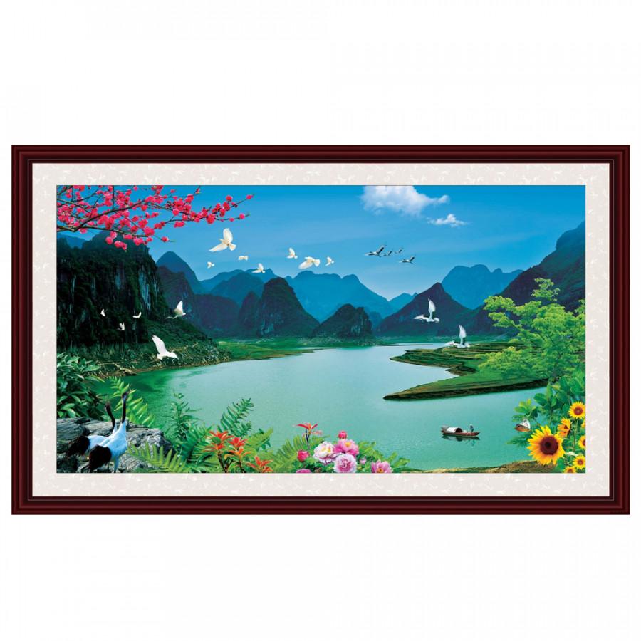 Tranh Dán Phong Thủy Q12K-ZTH(264)