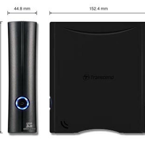Ổ cứng gắn ngoài 3.5 inch 4 TB StoreJet 35T3 USB 3.0 - Hàng chính hãng