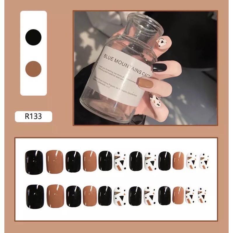 Set 24 móng tay giả Nail Box - Mã R133