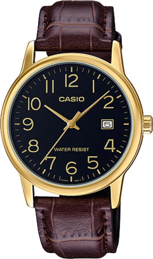 Đồng hồ nam dây da Casio MTP-V002GL-1BUDF